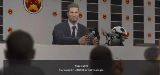 Brucevsky trenerem CF Madrid